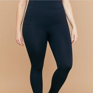 Ultra high-waist shaping leggings Opague black C/D